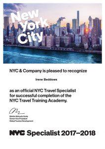 New york city specialist